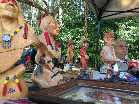 Ginter wood carvings. File photo
