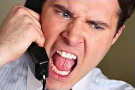 HOW TO PACIFY AN IRATE CALLER