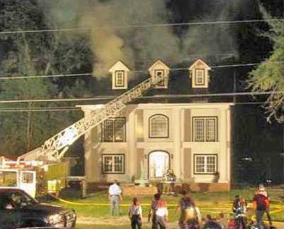 Parker house fire