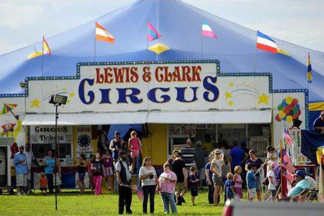 Lewis and Clark Circus