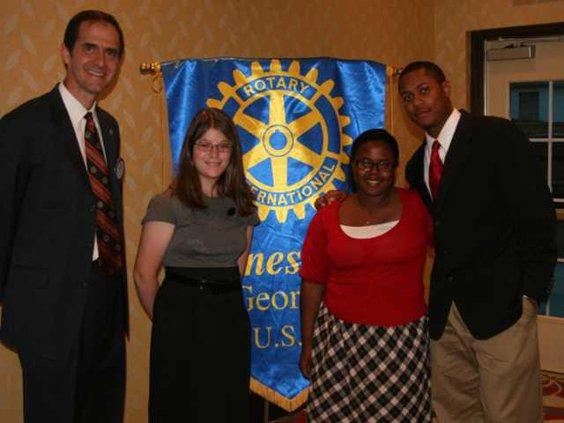 0516 Rotary Club awards