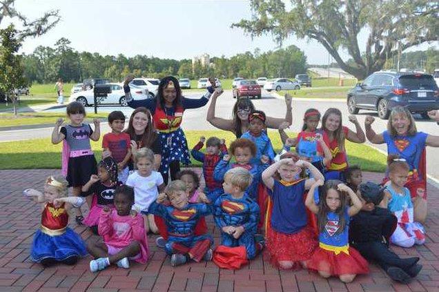 Montessori superhero