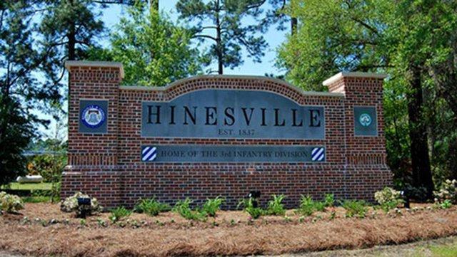 Hinesville sign