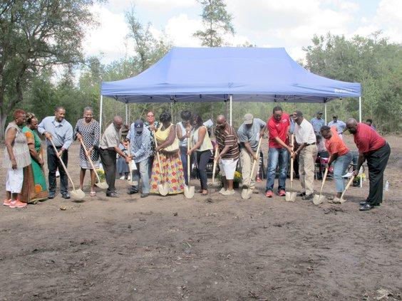 Holmestown Youth Center groundbreaking