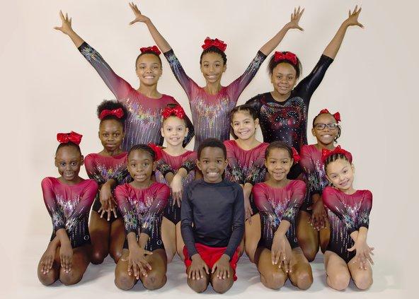 Gymnastics team-YMCA