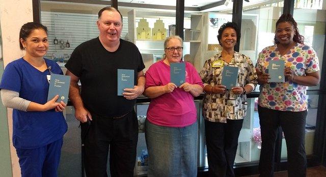 Gideons donate bibles to Liberty Regional - Coastal Courier