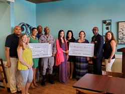 Leadership Liberty Class donation