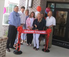 Ways station apartments ribbon cutting